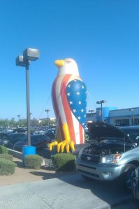 advertising inflatables for sale - 25ft Eagle