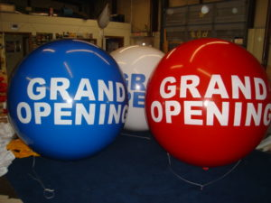 advertising balloons St. Charles - Grand Opening balloons