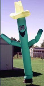 Cactus man airdancer